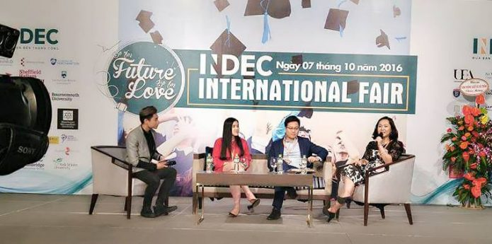 HỘI THẢO DU HỌC: INDEC INTERNATIONAL FAIR