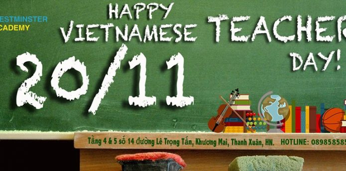 Happy Vietnamese Teacher's Day!